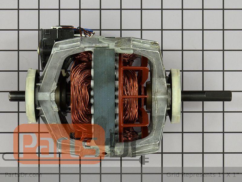 GEHWE17X10010_4 we17x10010 ge clothes dryer motor kit parts dr