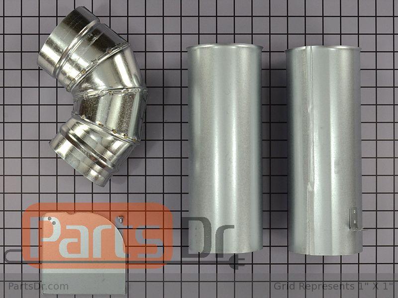 We25x10015 Ge Dryer Side Venting Kit Parts Dr