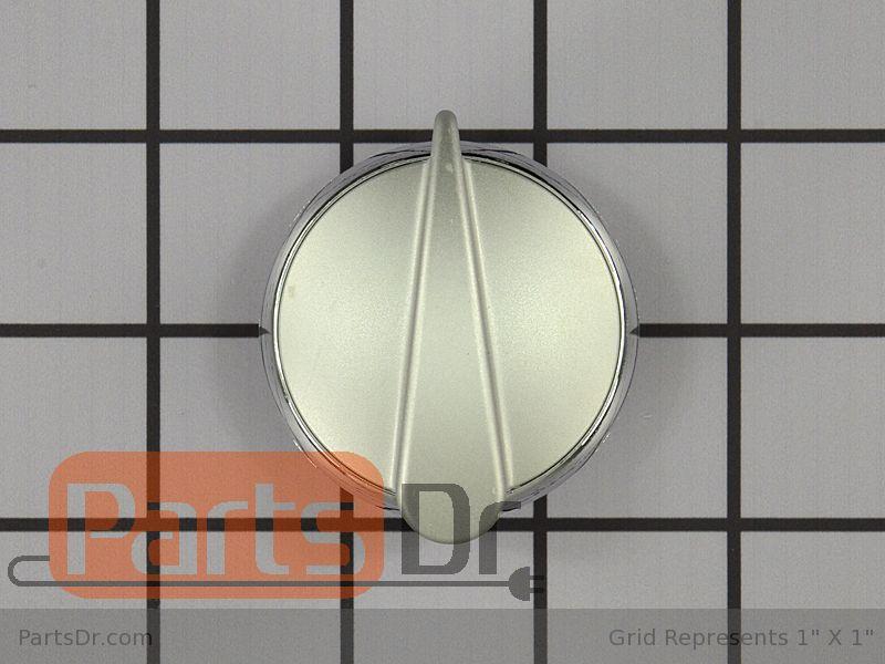 WH01X10305 GE Washer Knob Gray