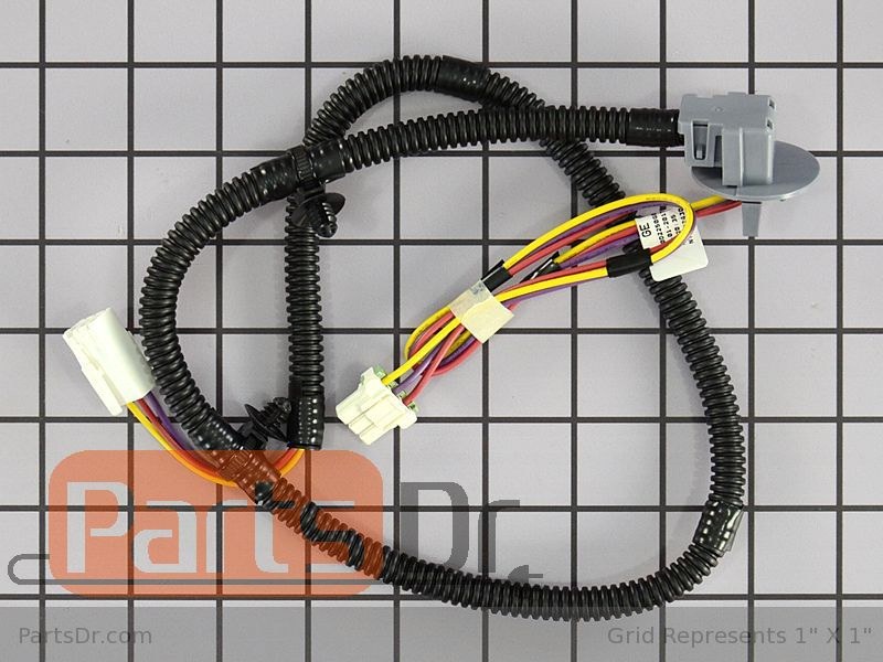 WH19X24141 - GE Lid Lock Wiring Harness | Parts Dr