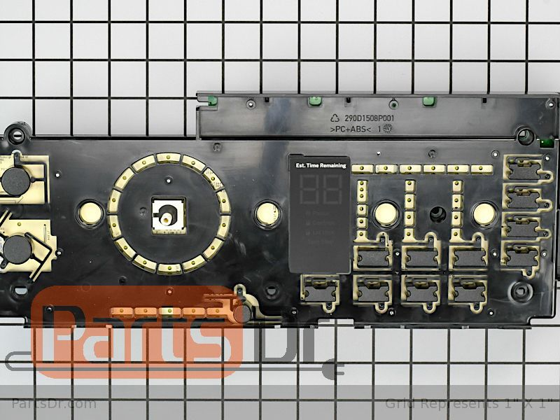 GE GNW128PSM0WW Front control panel WH42X27445