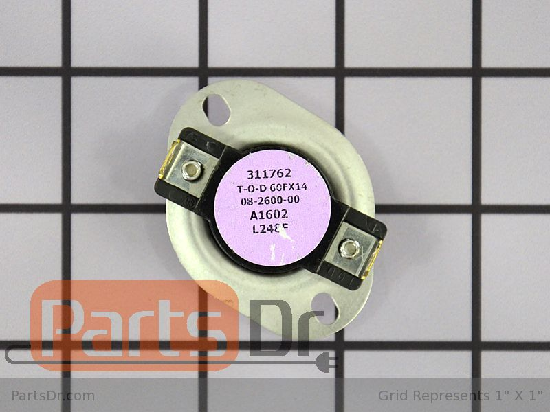 High Limit Thermostat WP28X10013