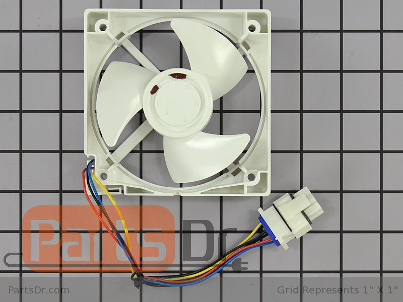 Wr60x10340 ge freezer evaporator fan motor parts dr for Evaporator fan motor troubleshooting