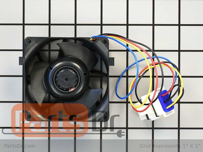 ForeverPRO WR60X21886 Motor Evap Fan Srvc for GE Refrigerator WR60X10285