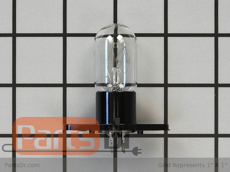 New Genuine OEM LG Microwave Incandescent Lamp Light Bulb 6912W3B002K