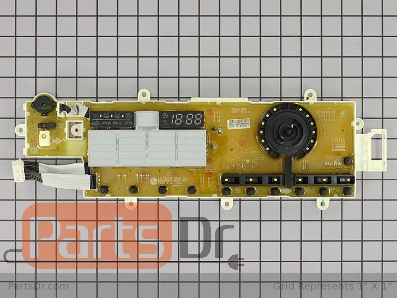 Lg EBR62267115 Washer Display Control Board Genuine OEM part