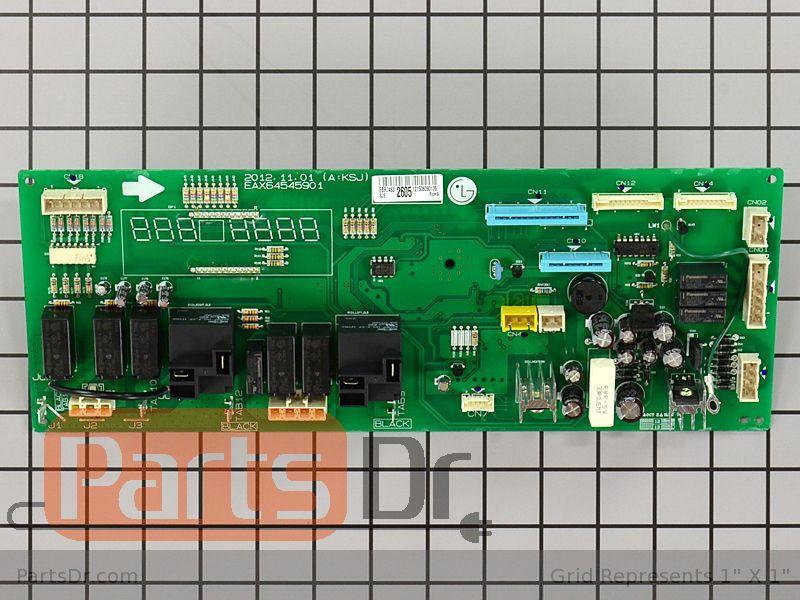Ebr74632605 Lg Oven Control Board Parts Dr