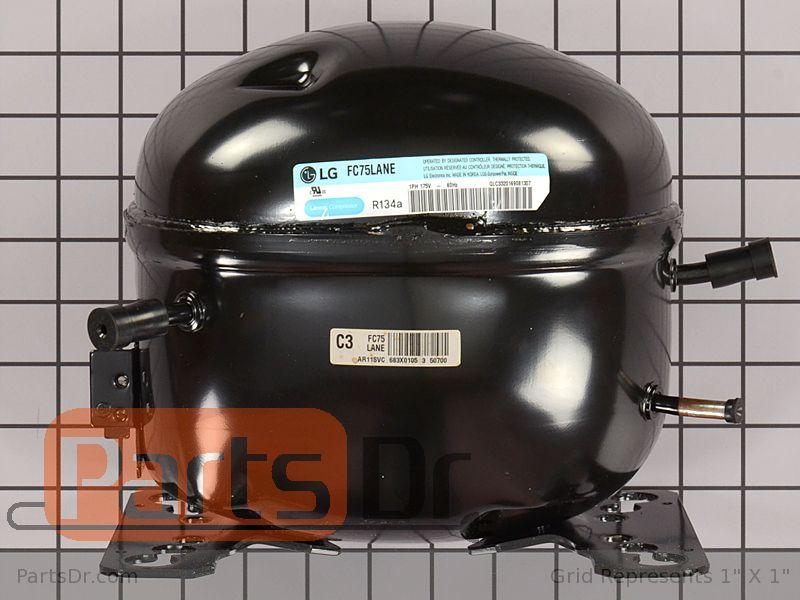 Tca36411701 Lg Refrigerator Compressor Assembly Parts Dr