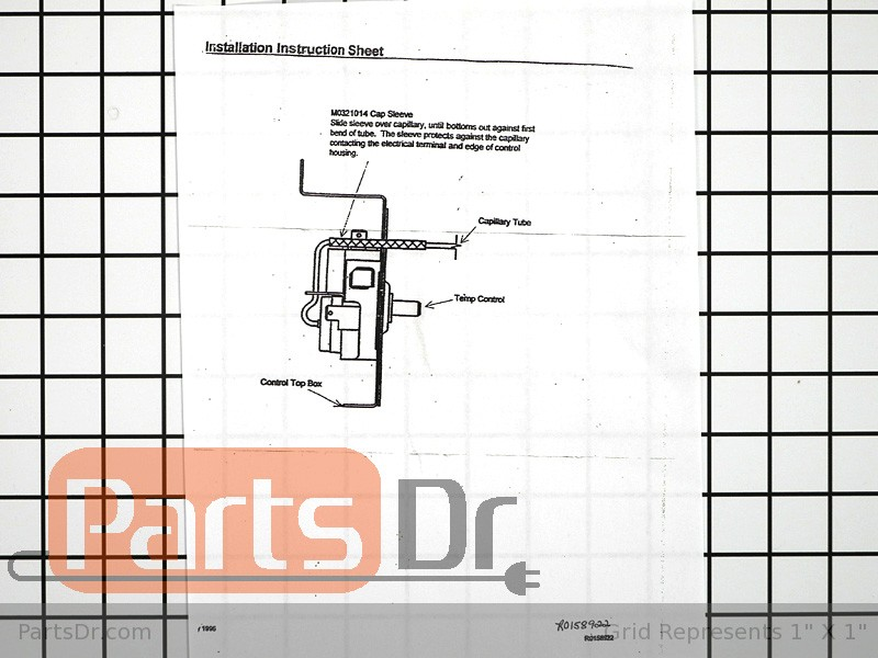 R0161092 Whirlpool Refrigerator Cold Control Thermostat