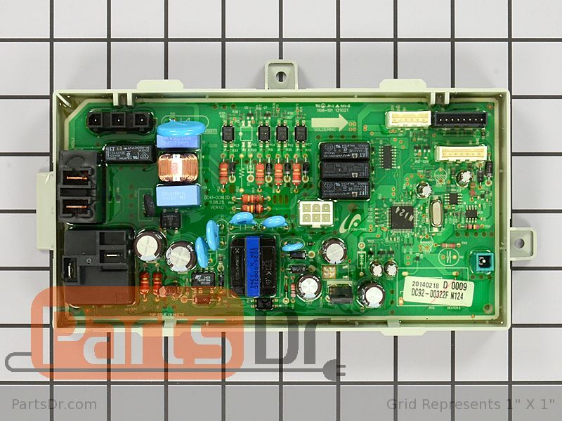 Dc92 00322f Samsung Dryer Main Control Board Parts Dr
