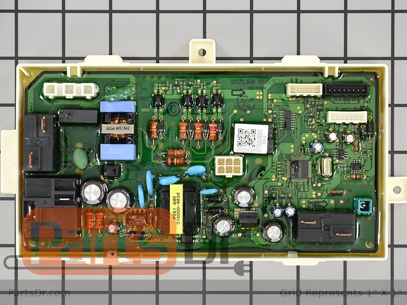 Dc92 01606d Samsung Dryer Main Control Board Parts Dr