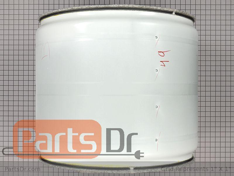 dc97 16812h samsung dryer drum assembly parts dr