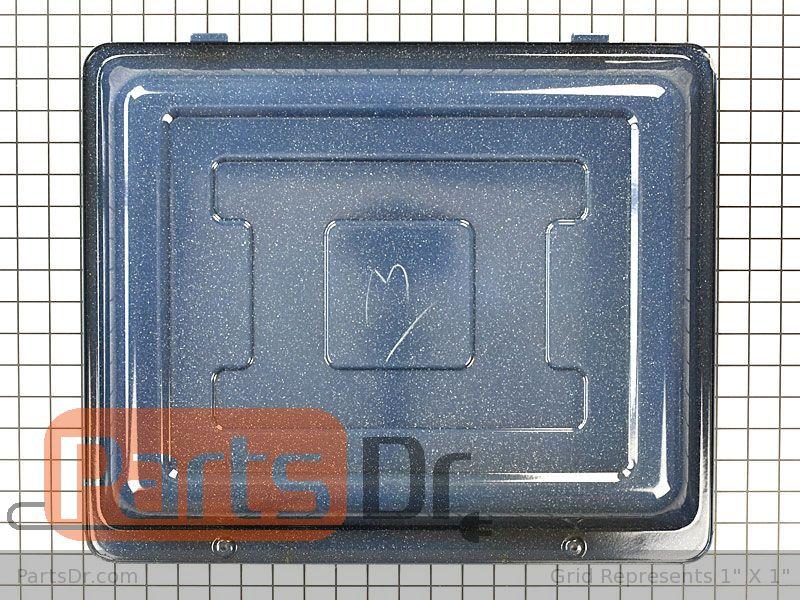 DG61-00823A NEW Samsung Stove Range OVEN BOTTOM PANEL