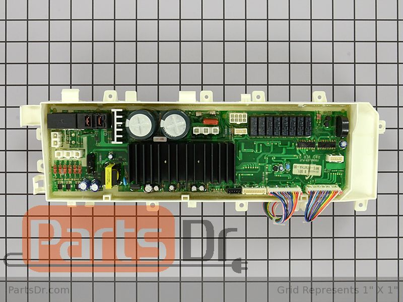 Mfs F8wbha T0 Samsung Washer Main Control Board Parts Dr