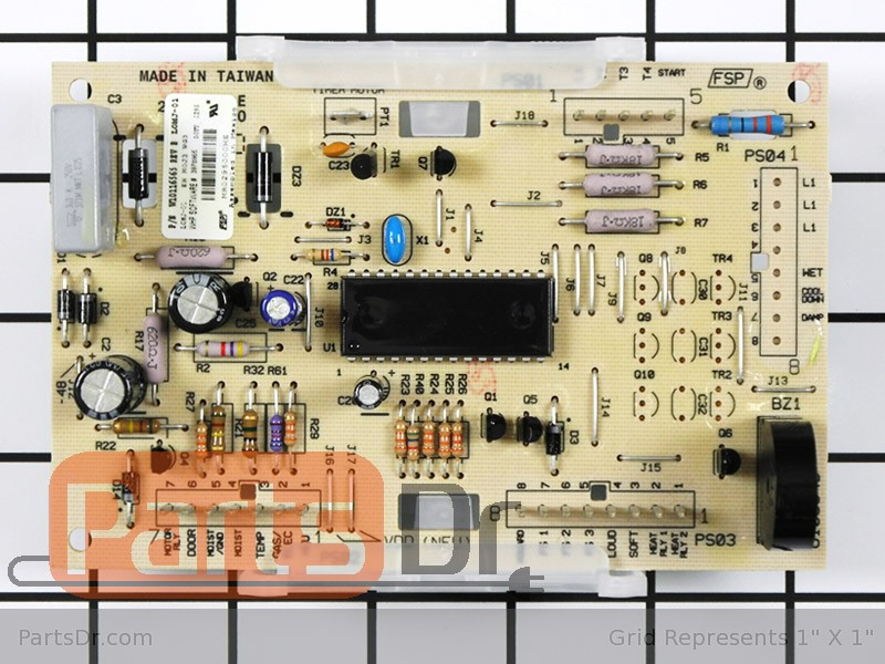 Wpw10116565 Kenmore Dryer Electronic Control Board