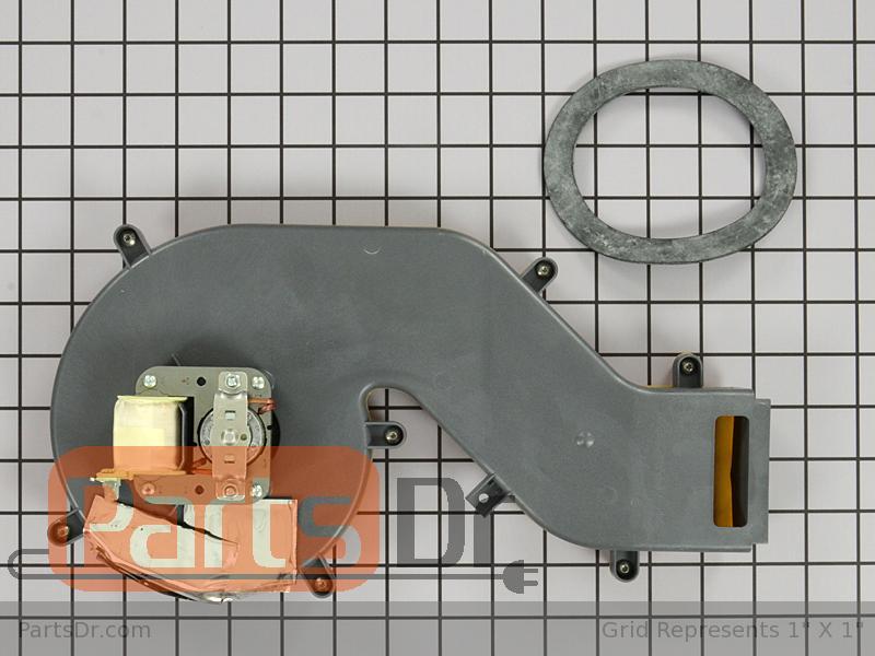 Wpw10155595 Whirlpool Dishwasher Vent Fan Assembly