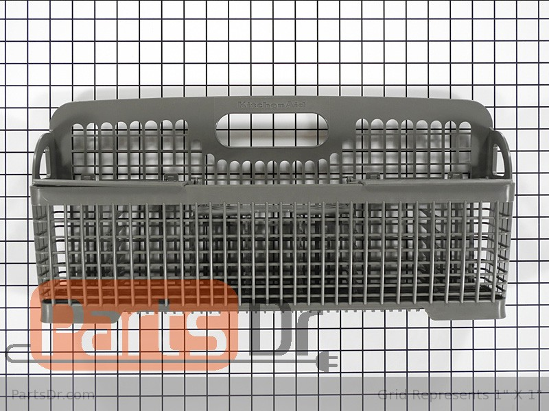 Merveilleux Dishwasher Parts · Silverware Basket