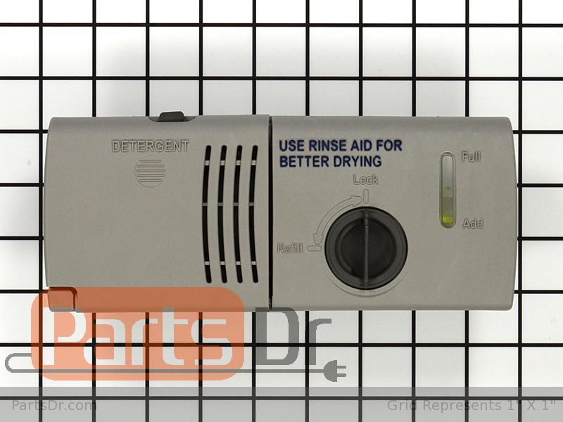 Wpw10224430 Whirlpool Detergent Dispenser Parts Dr