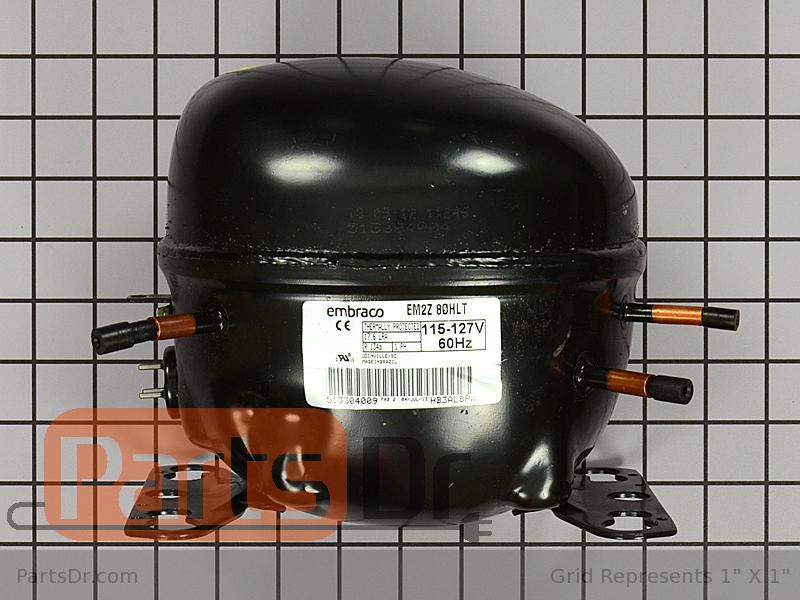 W10233961 Whirlpool Compressor Kit Parts Dr