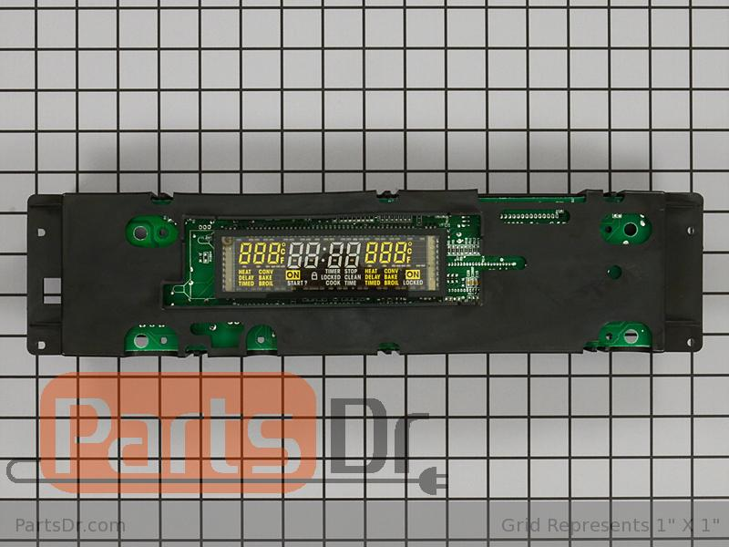 Wpw10438751 Whirlpool Oven Electronic Control Board
