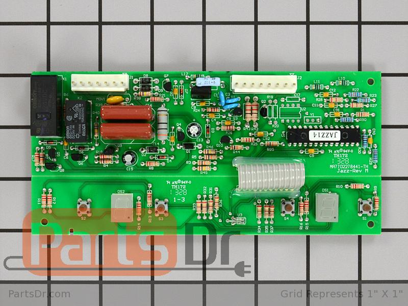 Wpw10503278 Whirlpool Jazz Control Board Parts Dr