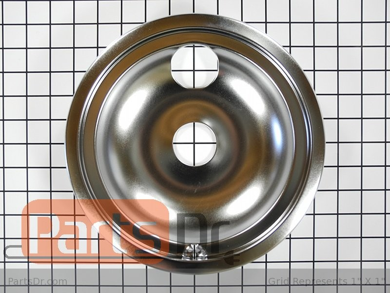 2 Stove 8 Inch Drip Pan for GE Hotpoint Kenmore WB31T10011 WB32X10014