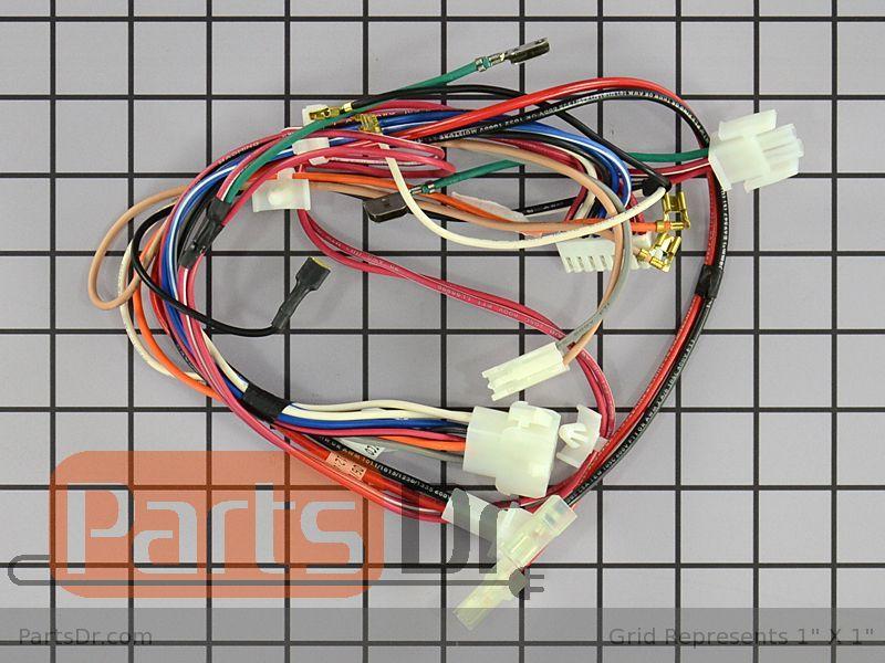 134394400 - Frigidaire Dryer Wiring Harness   Parts Dr   Aeq6000es2 Wiring Harness Parts      Parts Dr