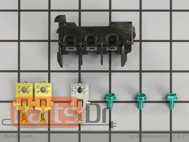 137150200 Frigidaire Dryer Terminal Block Parts Dr
