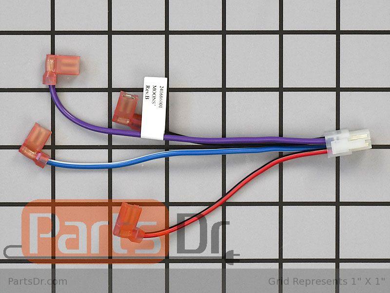 Frigidaire Refrigerator FFHS2611LW7 Parts | Parts Dr on
