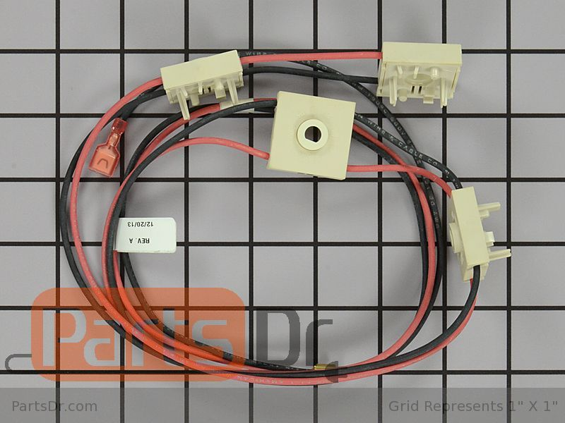 316219019 - frigidaire spark ignition switch & harness ... sparking frigidaire wiring harness parts toyota wiring harness parts #10
