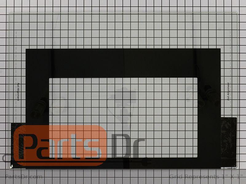 316452717 Frigidaire Oven Door Glass Parts Dr