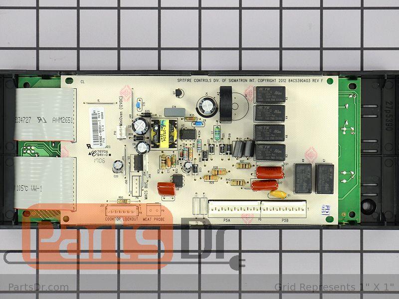 Frigidaire 316630001 Range//Stove//Oven Control Board
