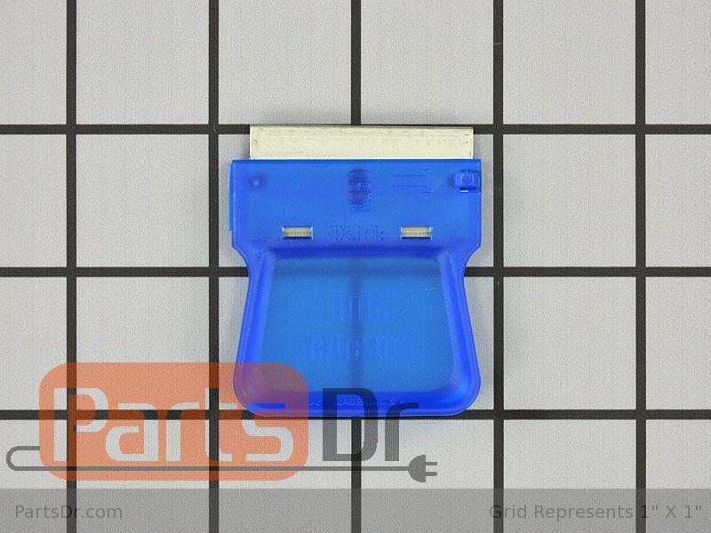OEM Frigidaire 5304433278 Cooktop Neon Mini Scraper Blue//Red