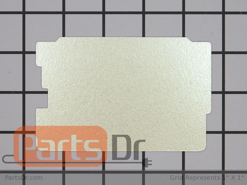 5304440845 Frigidaire Microwave Waveguide Cover Parts Dr