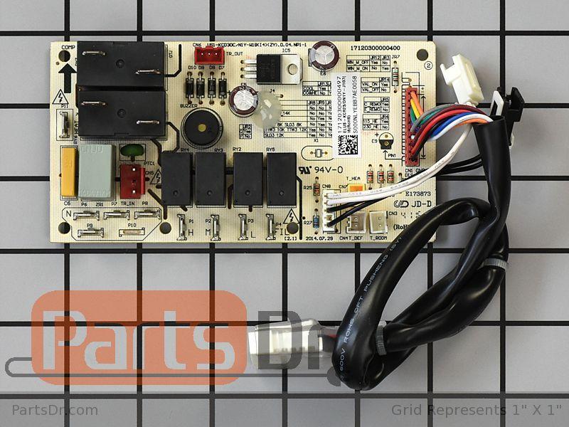 [ZTBE_9966]  5304496429 - Frigidaire Air Conditioner Control Board | Parts Dr | Ac Control Unit Wiring |  | Parts Dr