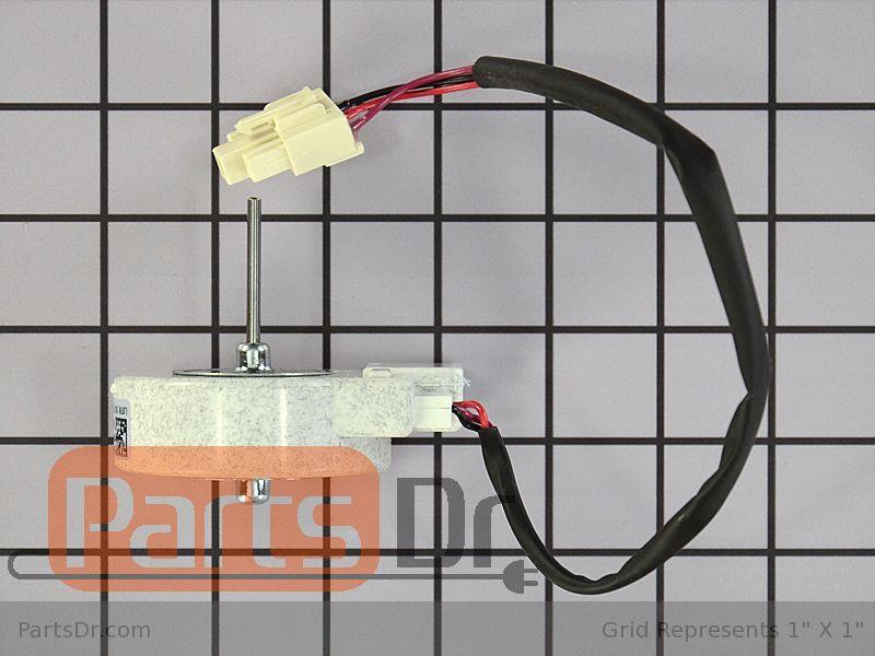 5304498691 frigidaire evaporator fan motor parts dr for How to test refrigerator evaporator fan motor