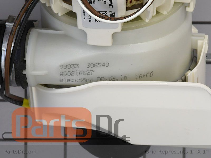 FRIGIDAIRE OEM 5304514365 A00194401 CIRCULATION PUMP W//CAPACITOR