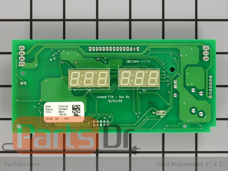 67006294 Whirlpool Low Voltage Control Board Parts Dr