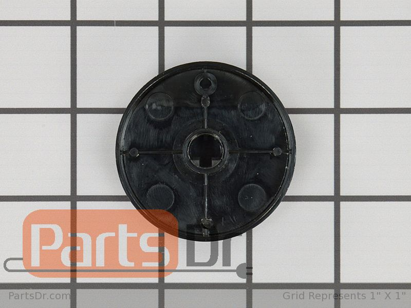 71002372 Whirlpool Knob Burner Black 71002372