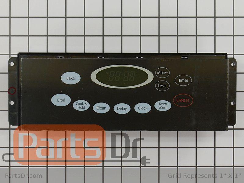 Wp74009217 Maytag Clock Control Board Parts Dr
