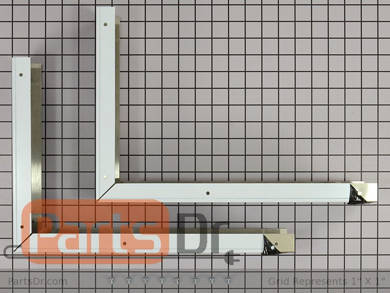 8171339 Whirlpool Filler Panel Kit Stainless Parts Dr