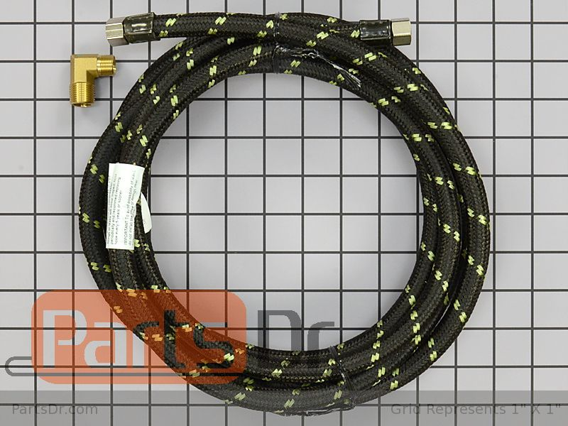 8212486 Whirlpool 10ft Dishwasher Fill Hose Kit Parts Dr