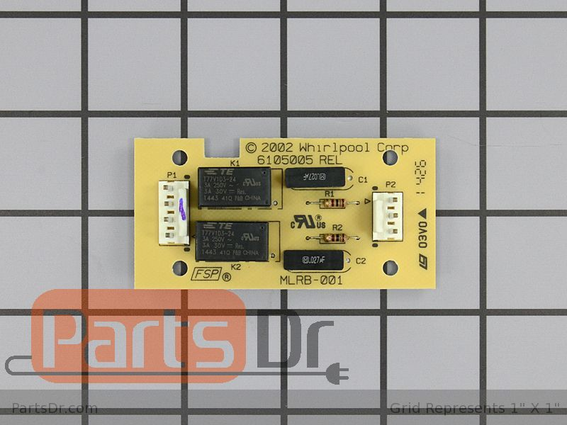 Wp8301848 Whirlpool Motorized Latch Control Board Parts Dr