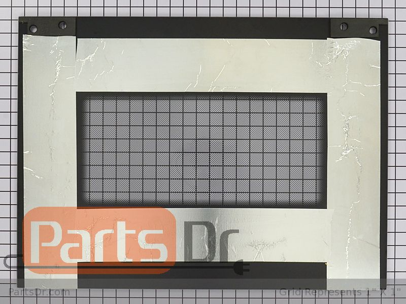 Wp9759641 Whirlpool Oven Outer Door Glass Parts Dr