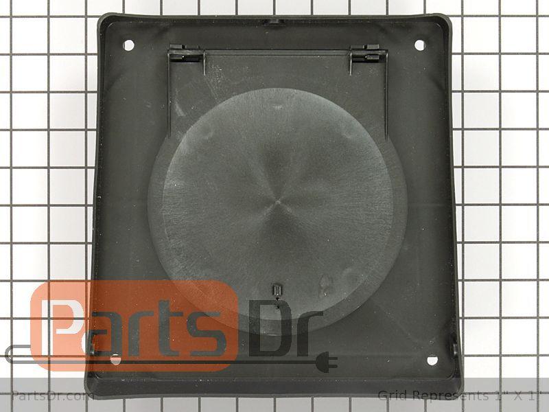 A406 Jenn Air Down Draft 6 Inch Wall Vent Cap Parts Dr