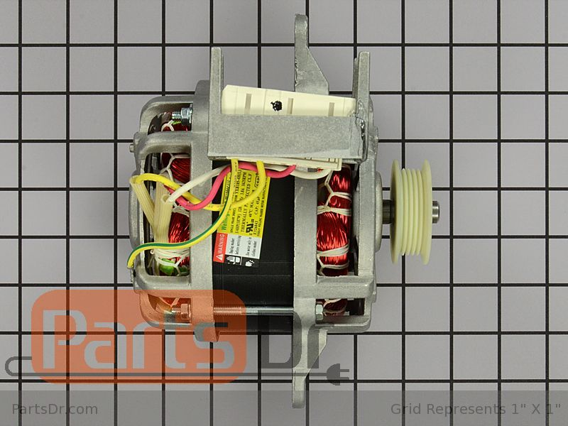 Whirlpool Washer Motor Assembly Part # W10006425