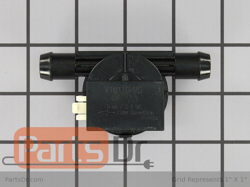 Wpw10110225 Whirlpool Washer Water Flowmeter Parts Dr