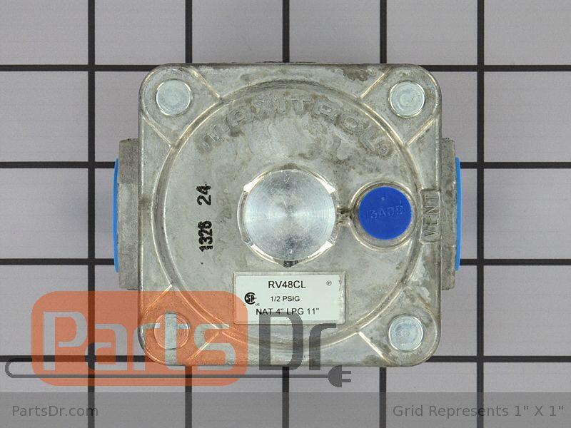 W10118098 Kitchen Aid Lp Gas To Natural Gas Conversion Kit Parts Dr