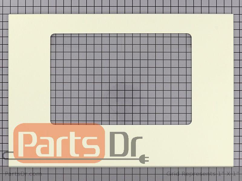 Wpw10118456 Whirlpool Oven Door Glass Bisque Parts Dr