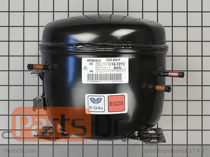 Whirlpool Refrigerator Compressor